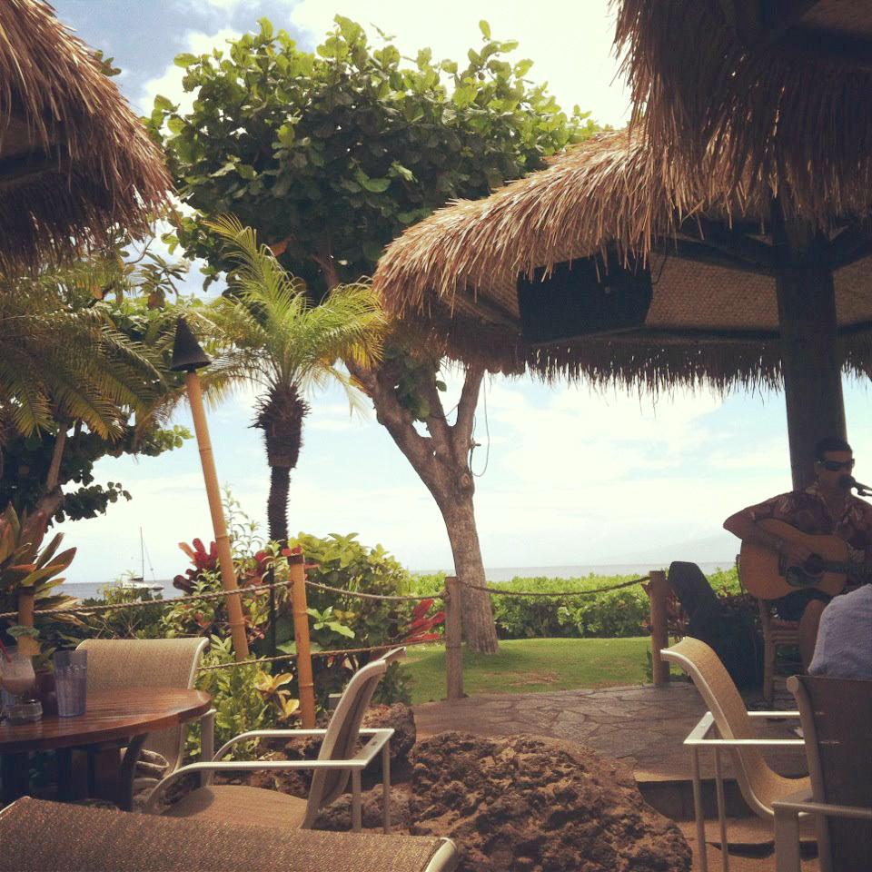 Ka'anapali Hula Grill view
