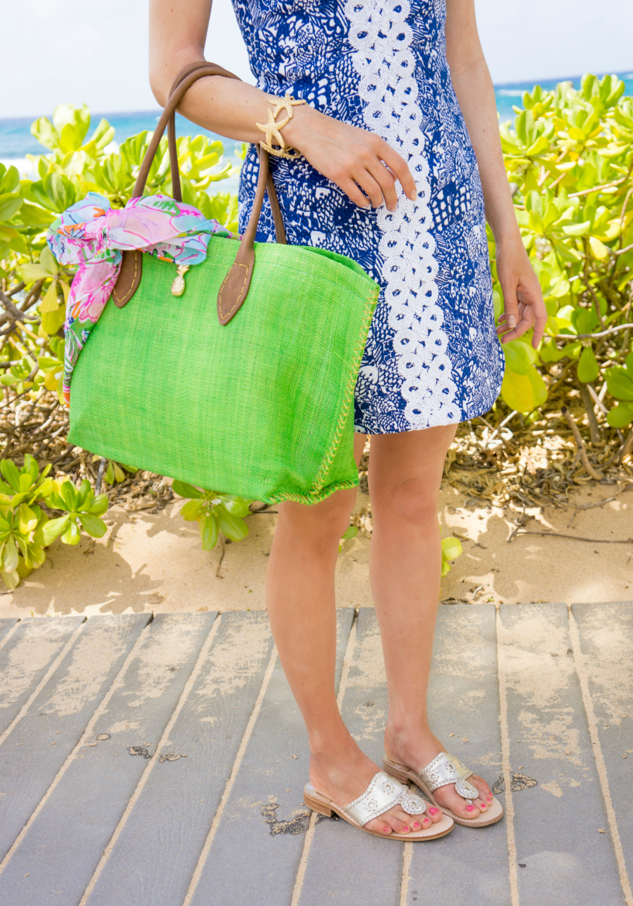 Lilly Pulitzer and Jack Rogers