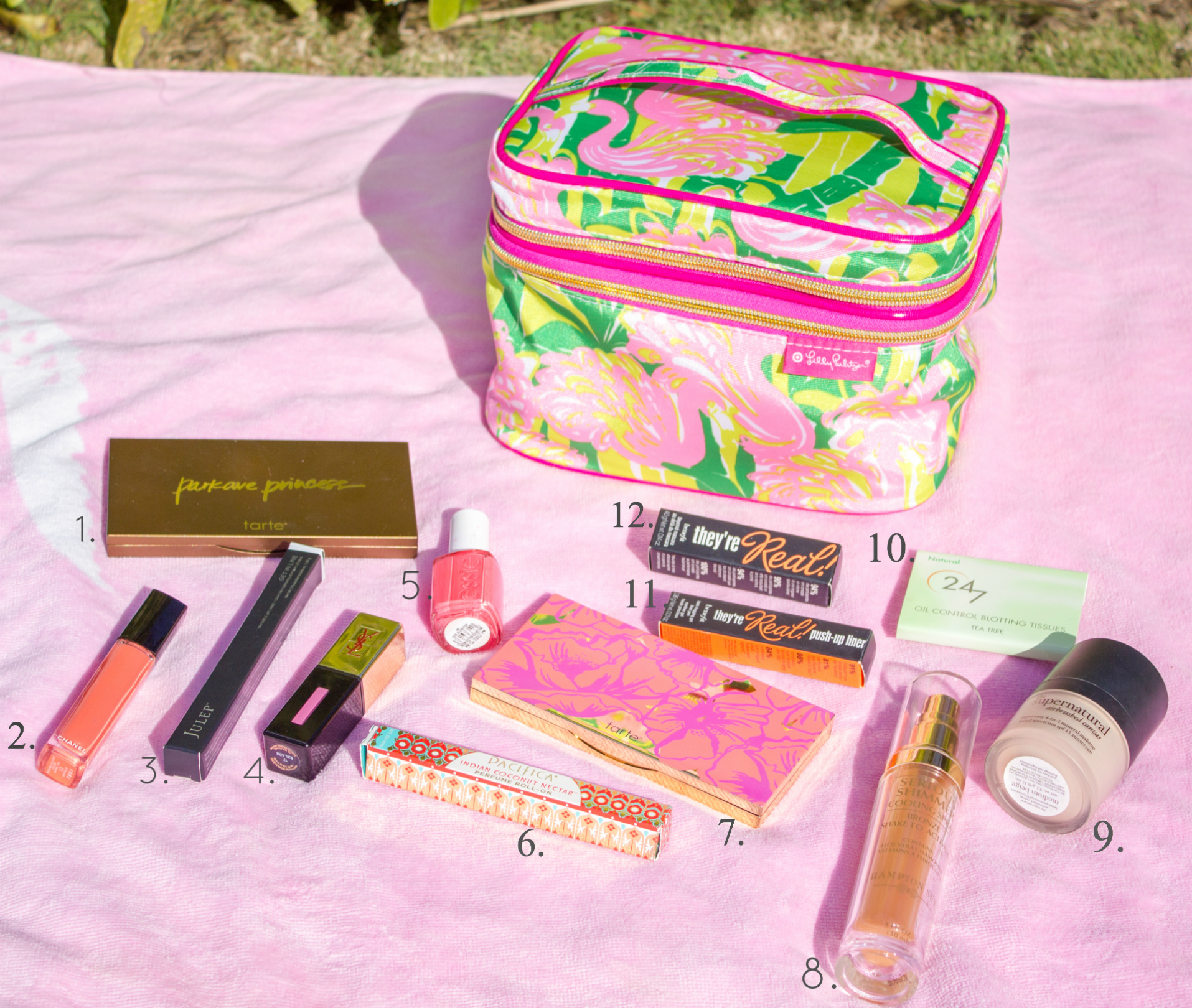 The Sugared Lemon's Beach Beauty Must Haves