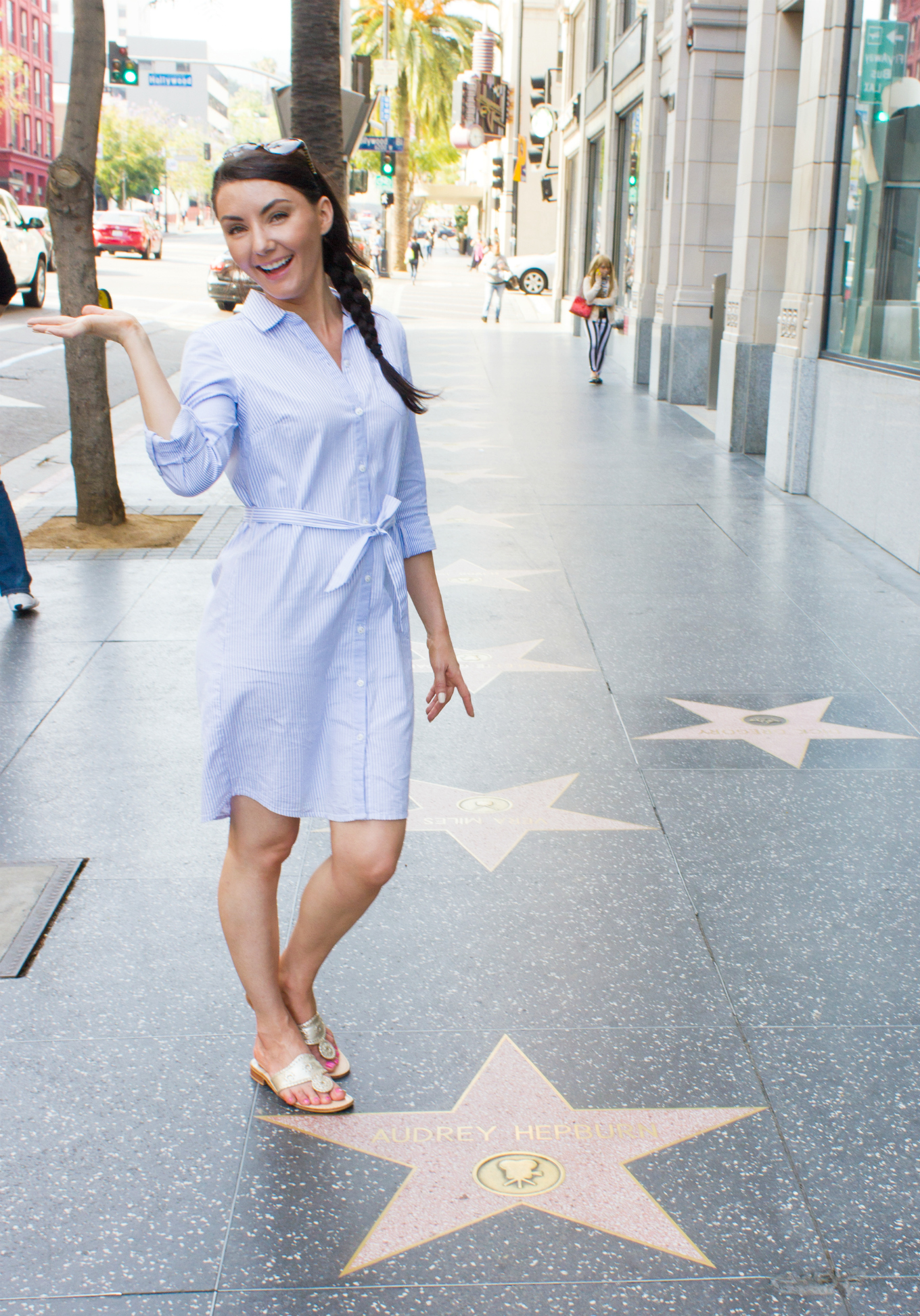 Kathryn-at-Audrey-Hepburn's-Star