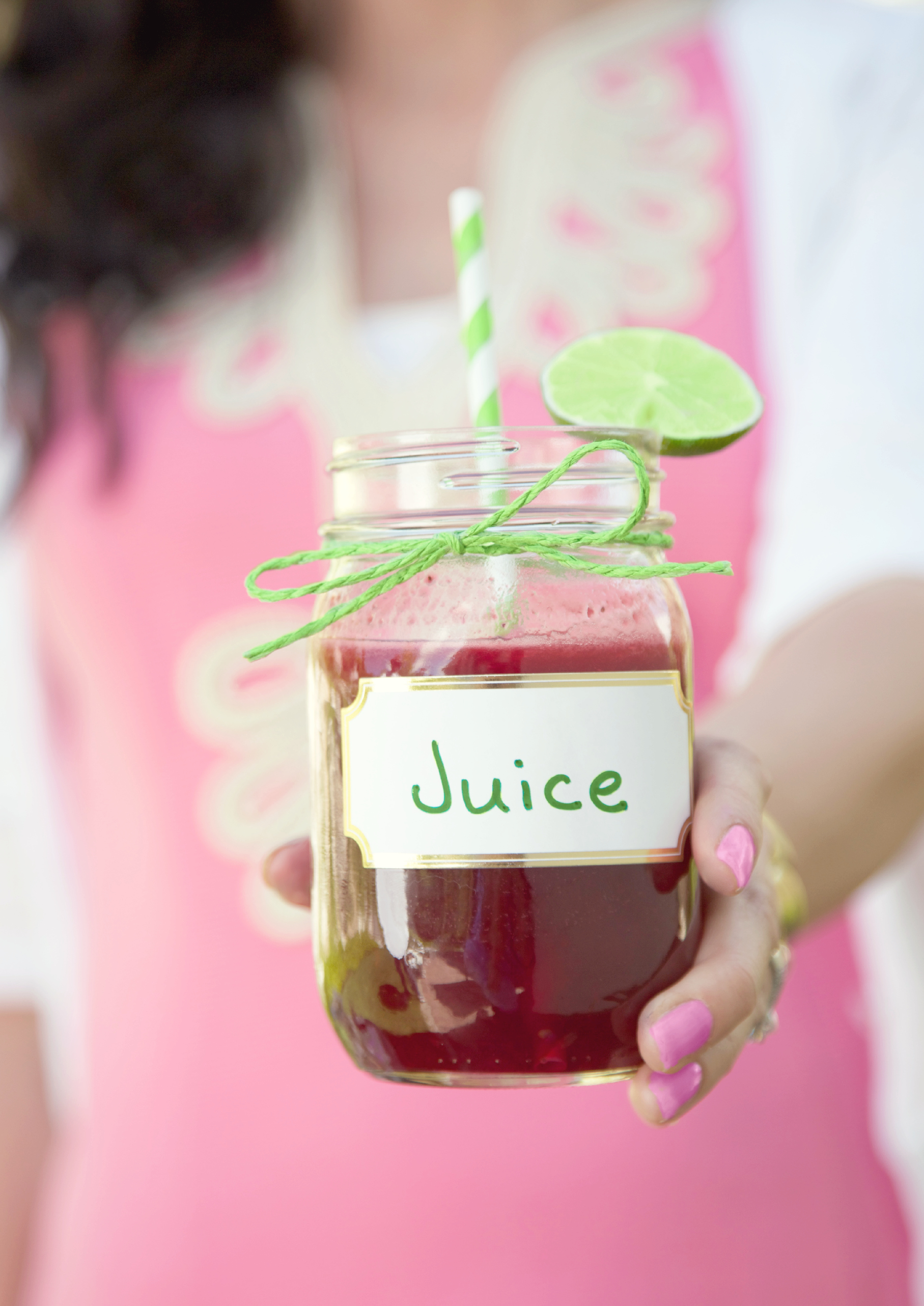 Fresh black raspberry limeade recipe. Perfect for a Summer drink!