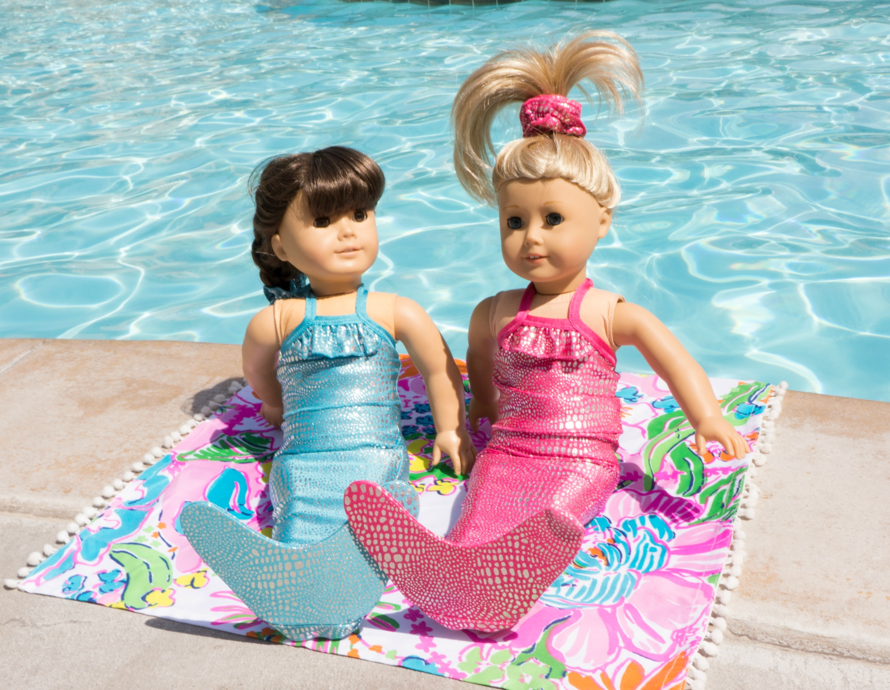 American Girl Doll outfits from Shimmer Tail Mermaid