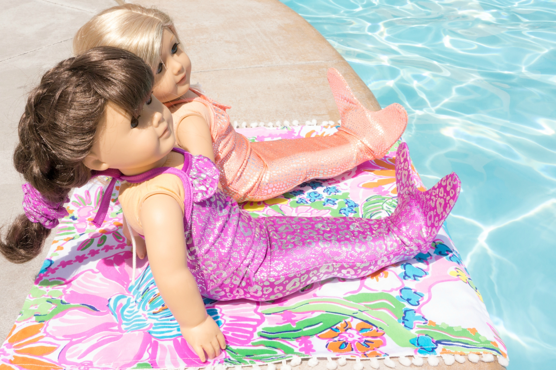 Shimmer Tail Mermaid doll outfits for American Girl