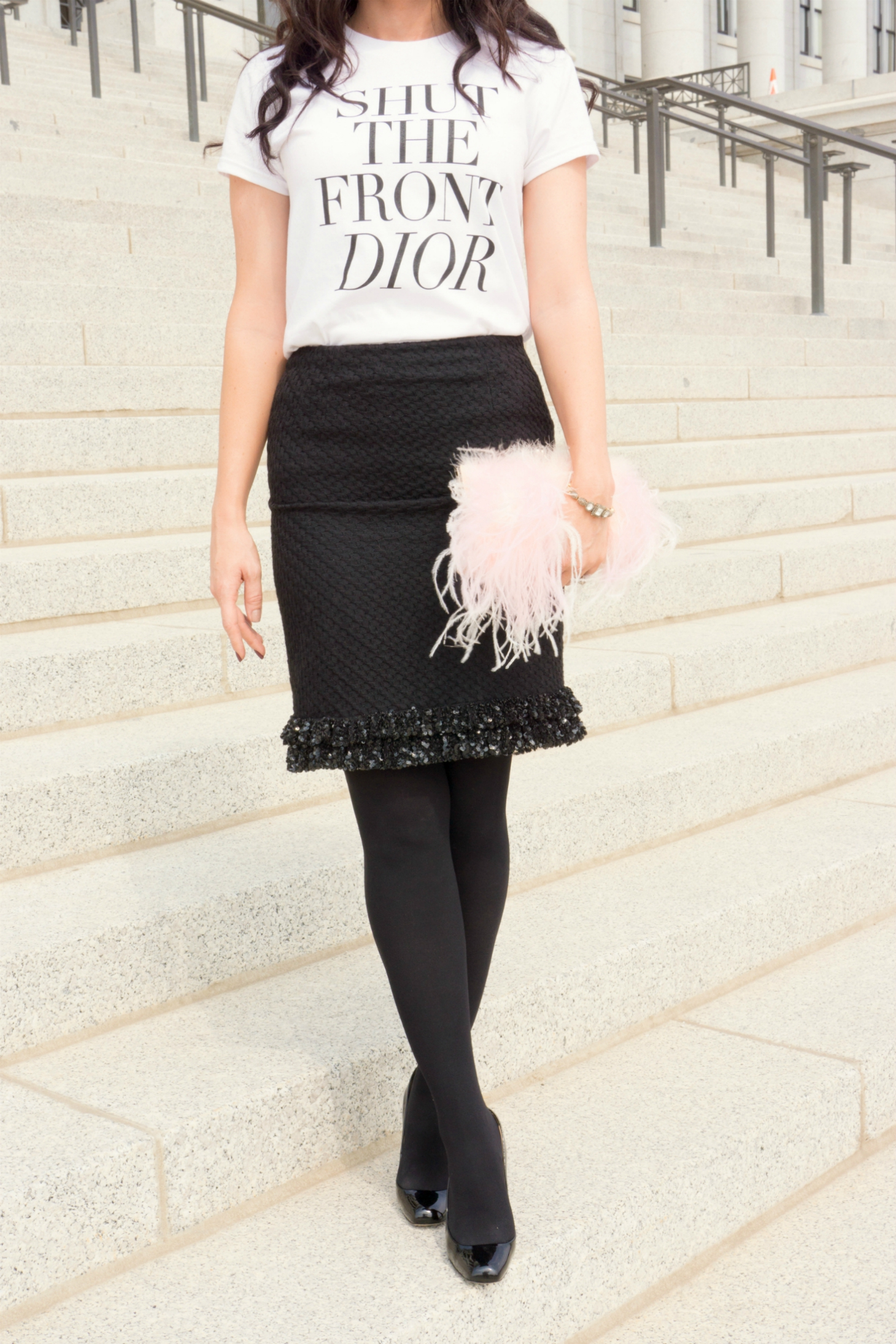 Shut the front Dior fall outfit inspiration