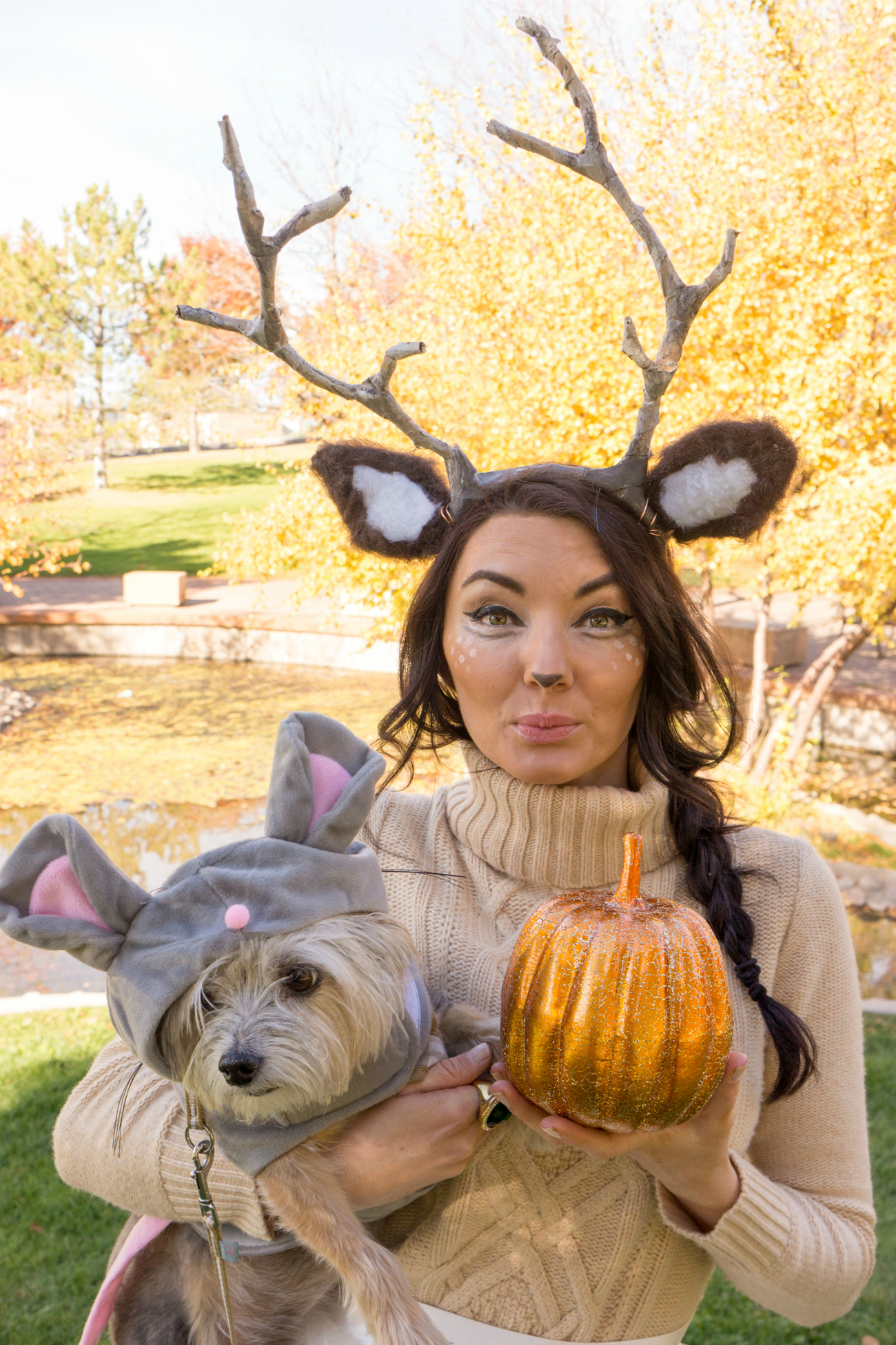 Lauren Conrad woodland deer halloween costume inspiration