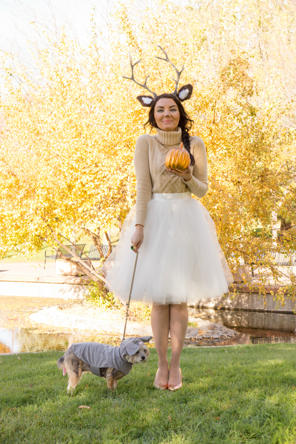 cute and pretty woodland halloween costume inspiration