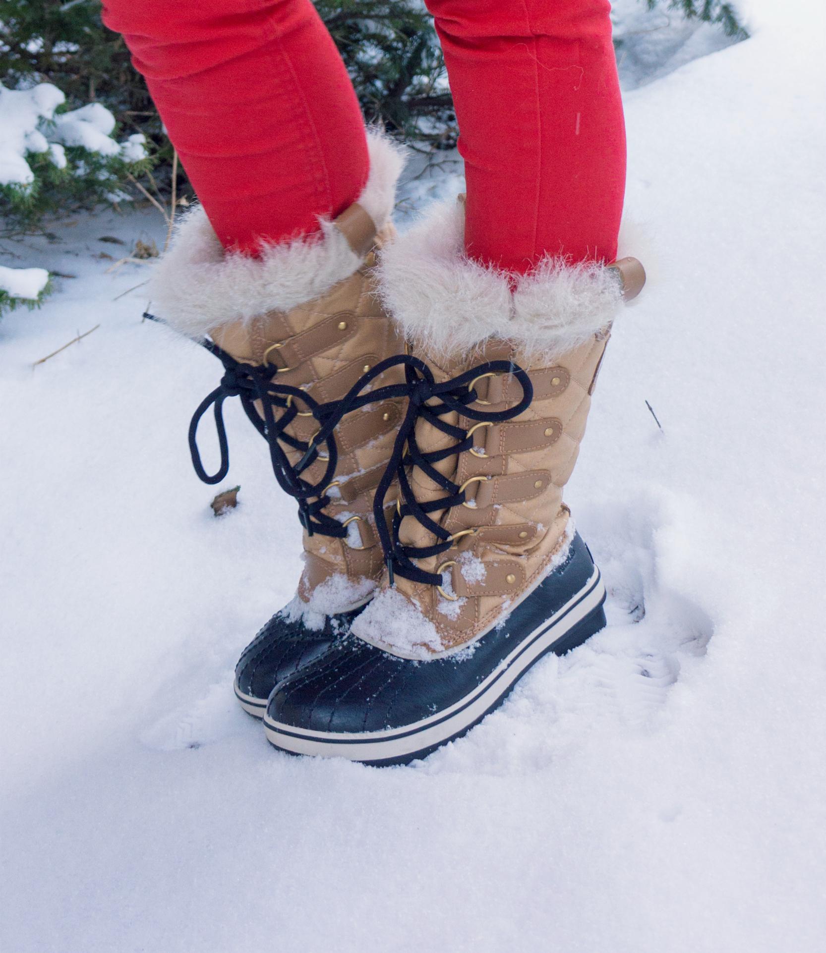 Winter fashion tofino Sorel boots