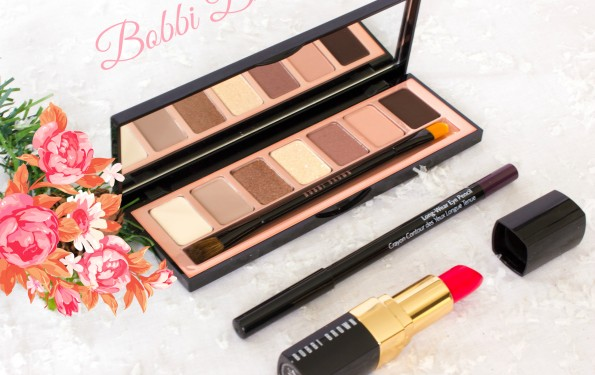 Bobbi Brown Valentines makeup look