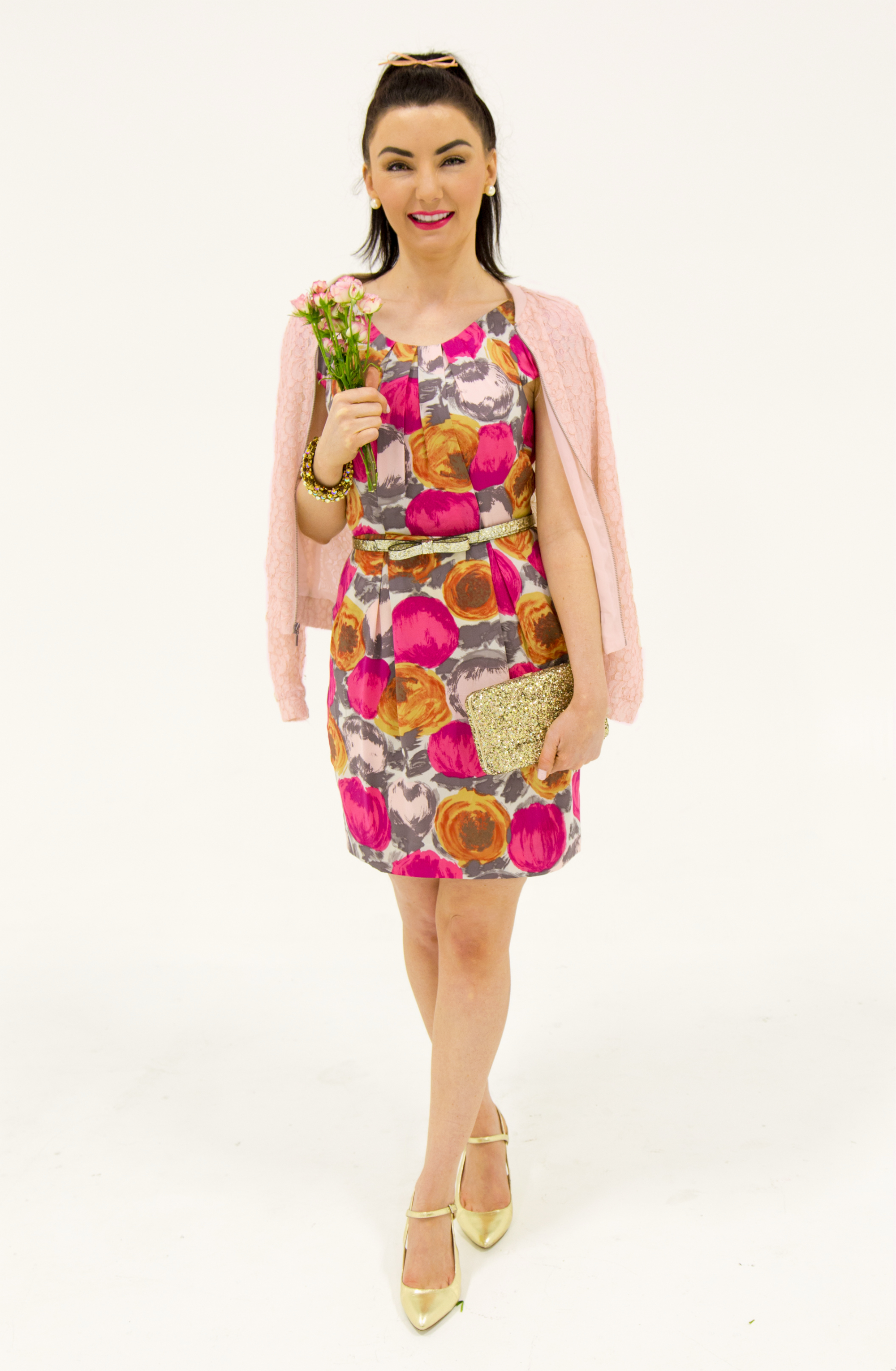 Kate Spade Valentines day flower dress