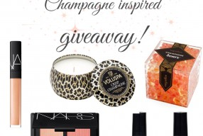She's bright like glitter and bubbly like champagne! Giveaway time!