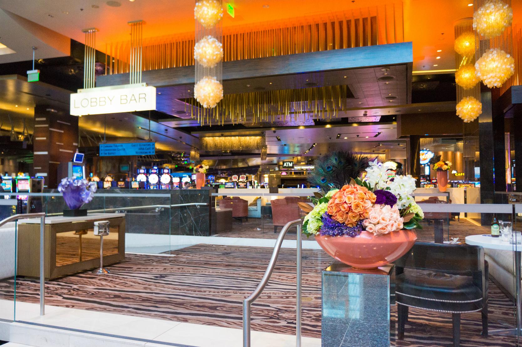 Las Vegas Aria Lobby Bar