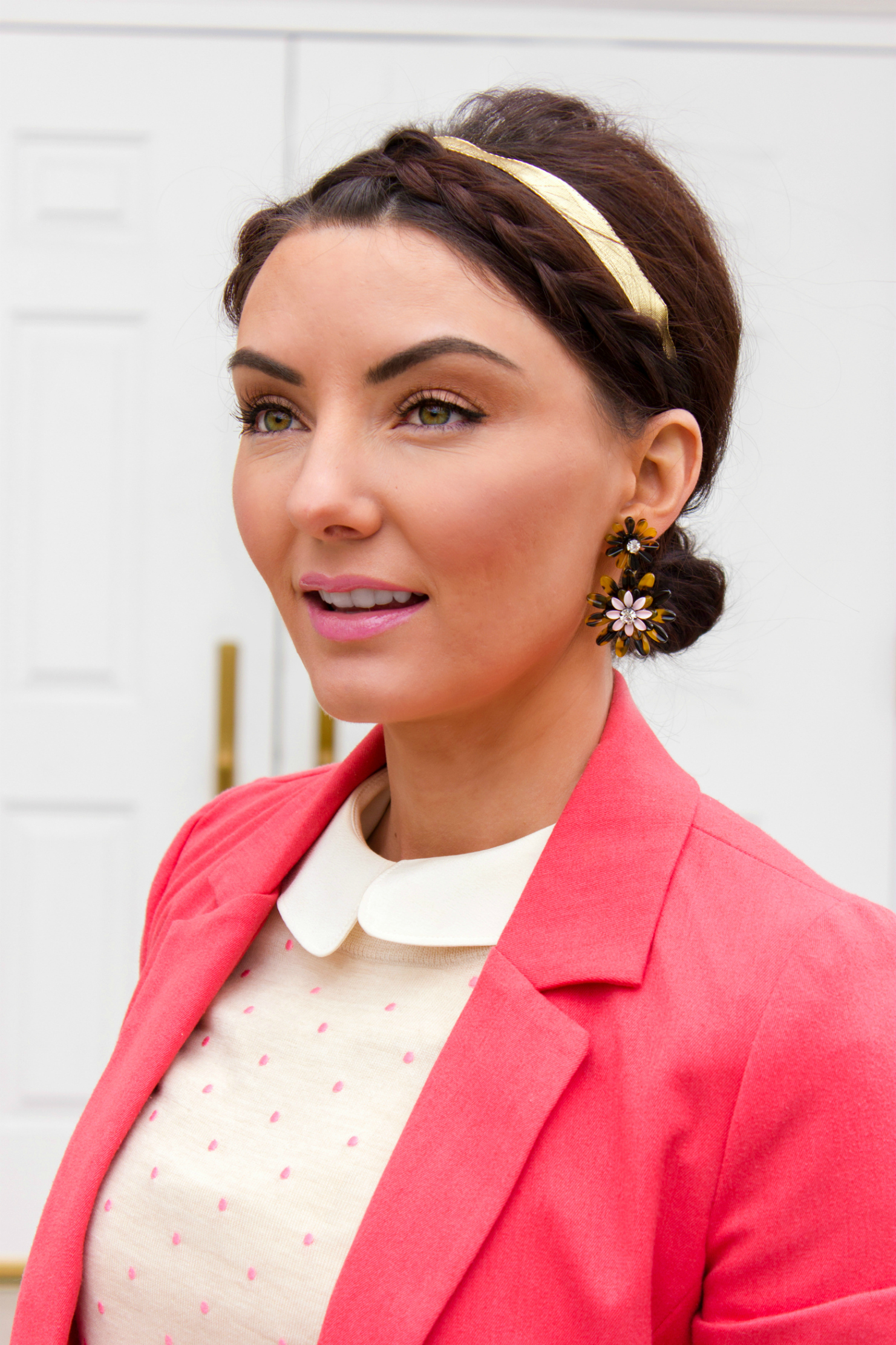 J.Crew Spring earrings