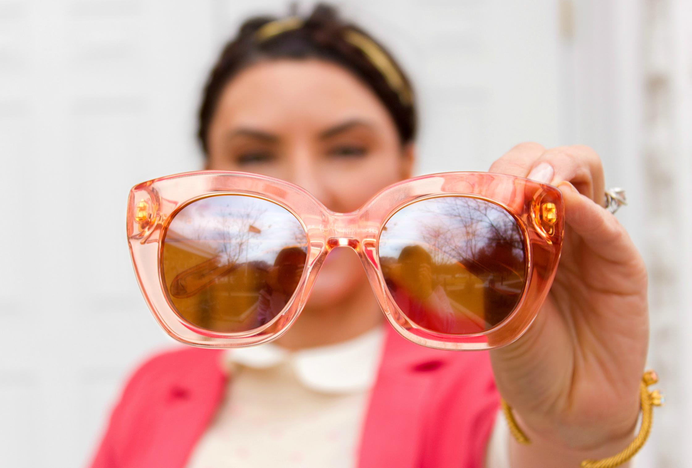 Kate Spade flamingo sunnies