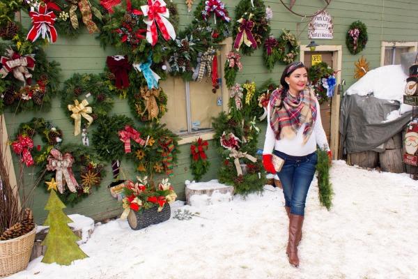 Park City Nursery fresh christmas wreath