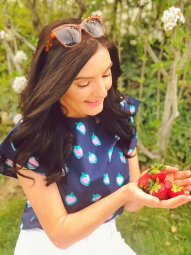 smitten with strawberries