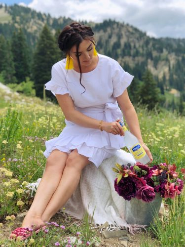 The hills are alive with the sound of music and Lorina lemonade
